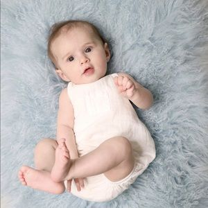 Other - Mika Romper in Off-White Multiple Sizes